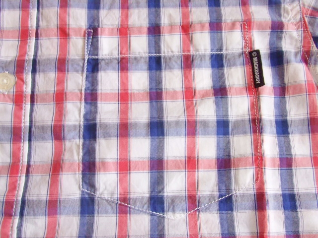 MDY BD CHECK SHIRT RED PT