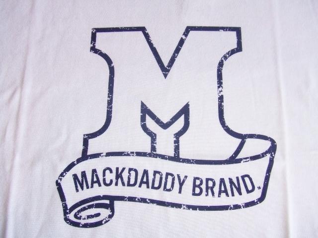 MDY MACKDADDY BRAND WHITE