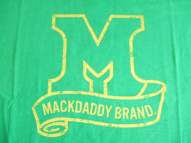 MDY MACKDADDY BRAND GREEN