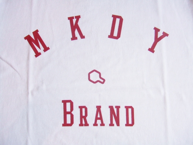 MDY MKDY BRAND WHITE