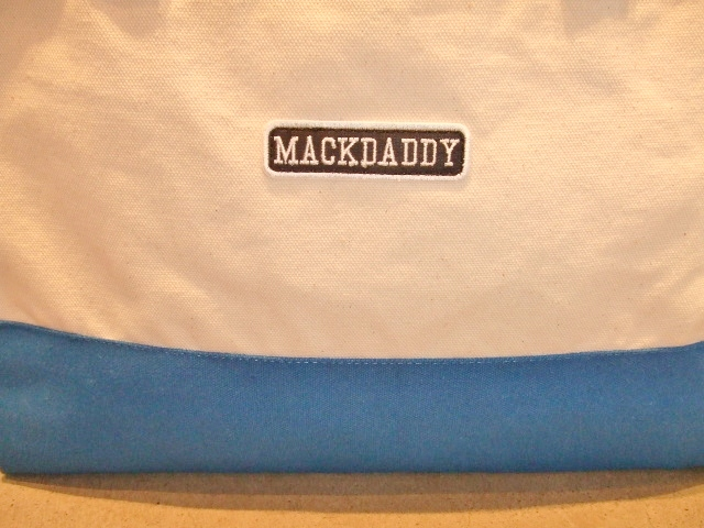 MDY TOTE BAG SMALL BLUE FT