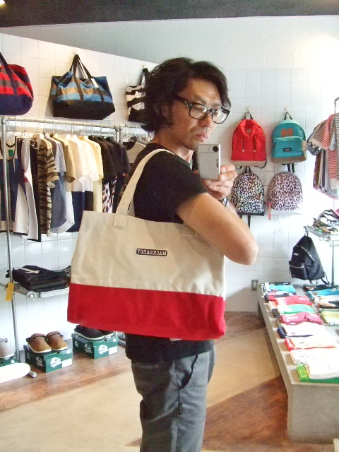MDY TOTE BAG SMALL RED ST