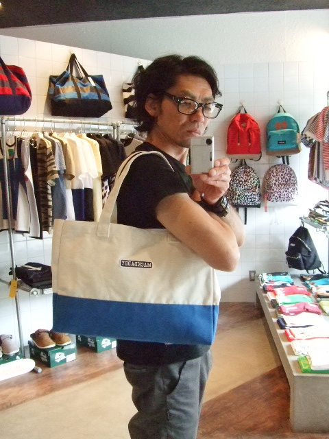 MDY TOTE BAG SMALL BLUE ST