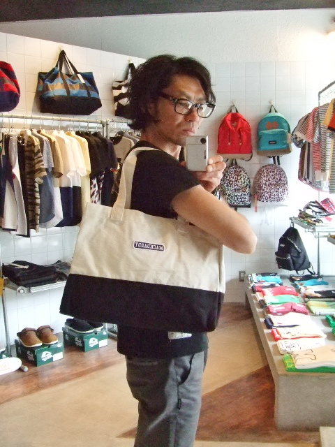 MDY TOTE BAG SMALL BLACK ST