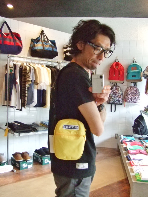 MDY MINI SHOULDER BAG  YELLOW ST