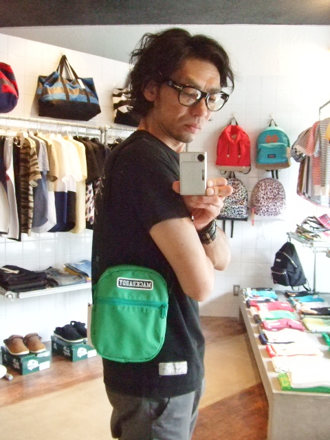 MDY MINI SHOULDER BAG  GREEN ST