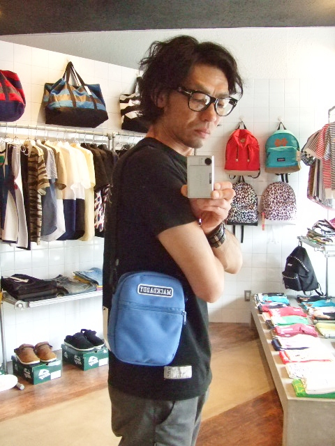 MDY MINI SHOULDER BAG  BLUE ST