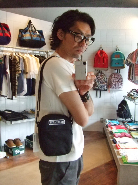 MDY MINI SHOULDER BAG  BLACK ST