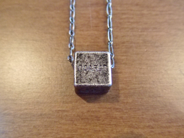DOARAT CUBE NECKLACE SILVER2