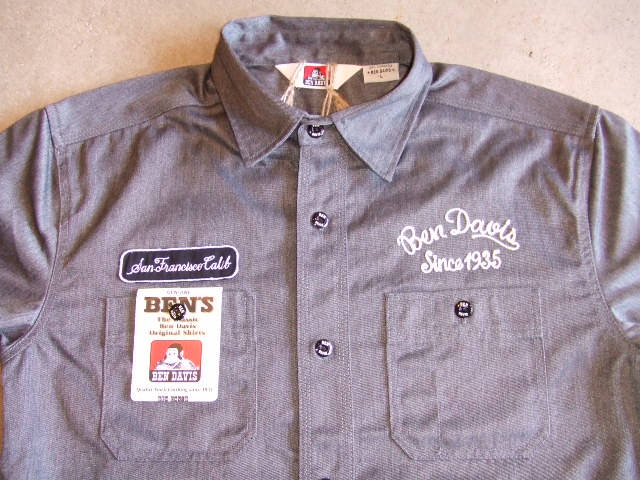 BENDAVIS WELDER SS SHIRT GRAY FT