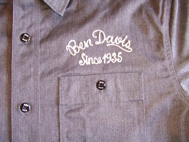 BENDAVIS WELDER SS SHIRT GRAY PT1