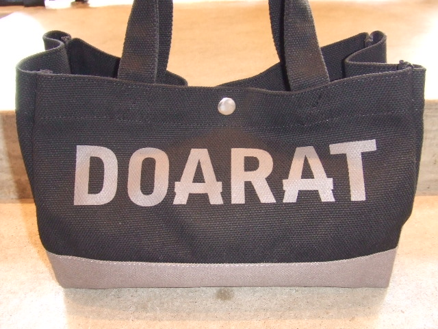 DOARAT TWO TONE SMALL TOTE2 BKGR FT