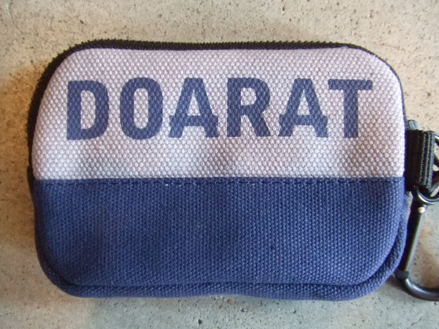 DOARAT TWO TONE POUCH2 GRNV FT
