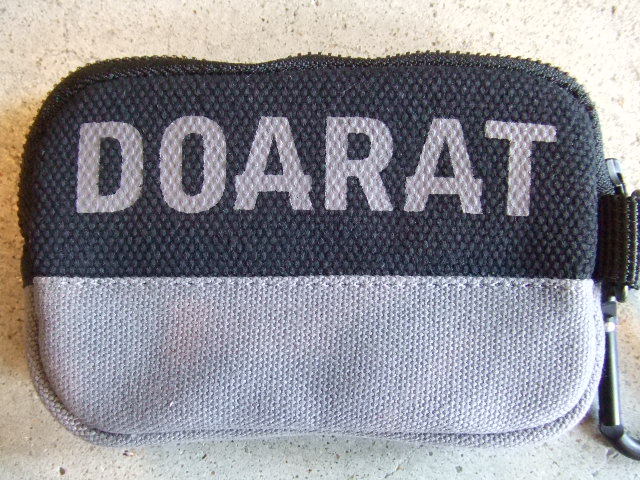 DOARAT TWO TONE POUCH2 BKGR FT