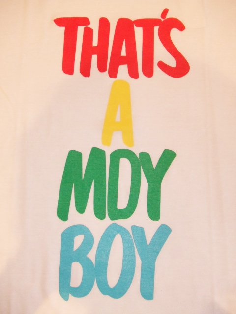 MDY THETS A MDY BOY WHITE FT1