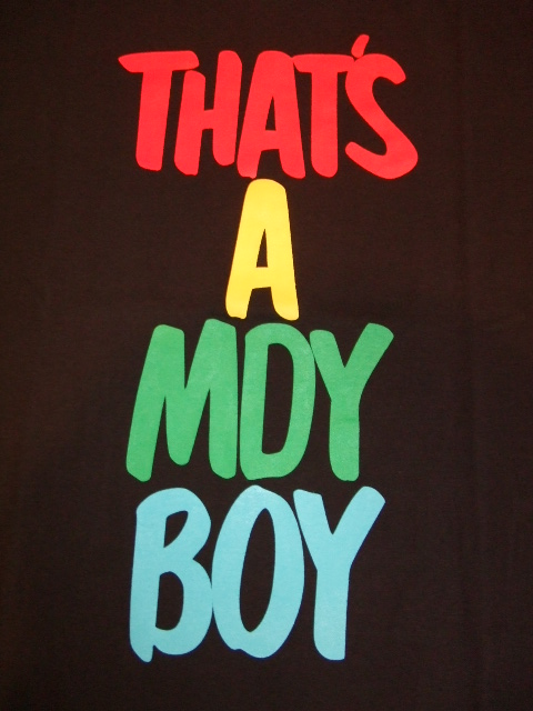 MDY THETS A MDY BOY BLACK FT1