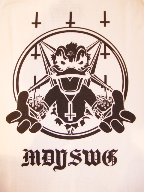 MDY SWAGGER TANK TOP WHITE FT1