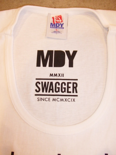 MDY SWAGGER TANK TOP WHITE FT2