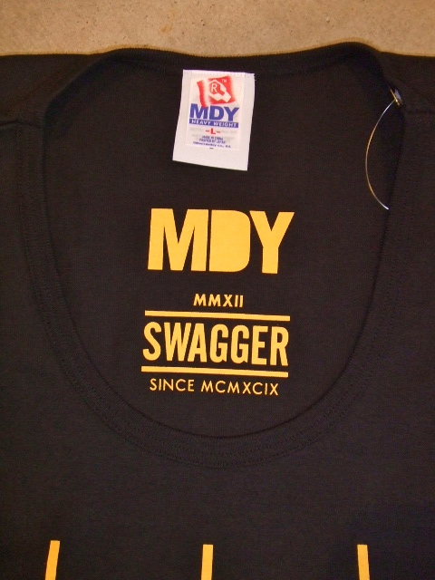 MDY SWAGGER TANK TOP BLACK FT2