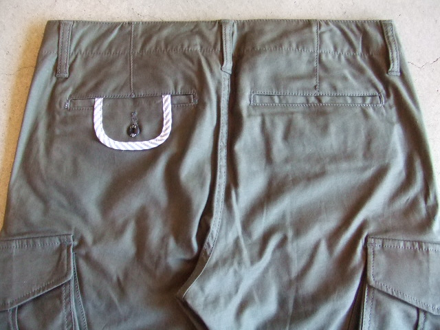 SEEth COURAGE  CARGO PANTS KHAKI BK1
