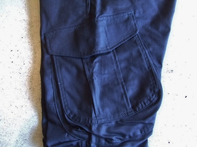 SEEth COURAGE  CARGO PANTS NAVY FT4