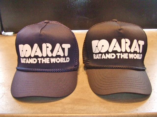 DOARAT RAT&THE WORLD COTTON CAP