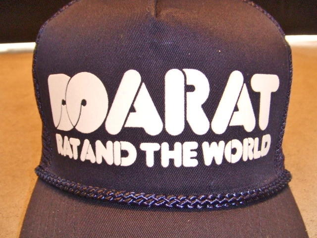 DOARAT RAT&THE WORLD COTTON CAP NAVY FT