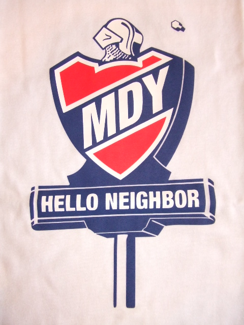 MDY HELLO NEIGHBOR WHITE FT1