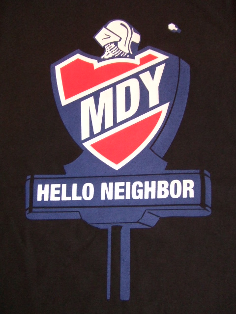 MDY HELLO NEIGHBOR BLACK FT1