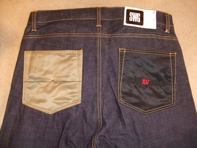 MDY SW DENIM PANTS BK