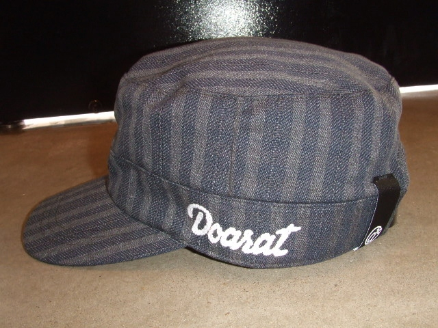 DOARAT STRIPE WORK CAP NAVY SD