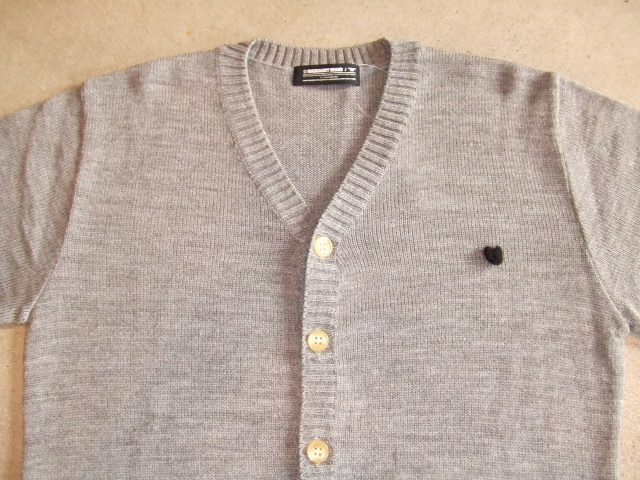 MDY MOHAIR KNIT CARDIGAN TOPGRAY FT1