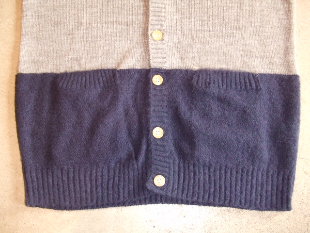 MDY MOHAIR KNIT CARDIGAN TOPGRAY FT2