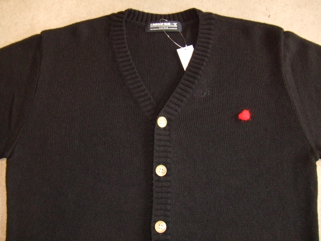 MDY MOHAIR KNIT CARDIGAN BLACK FT1