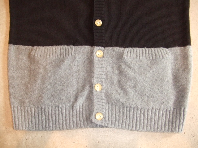 MDY MOHAIR KNIT CARDIGAN BLACK FT2