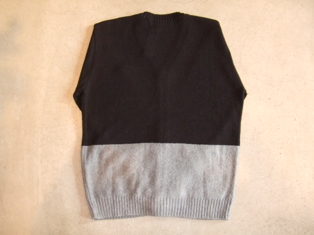 MDY MOHAIR KNIT CARDIGAN BLACK BK