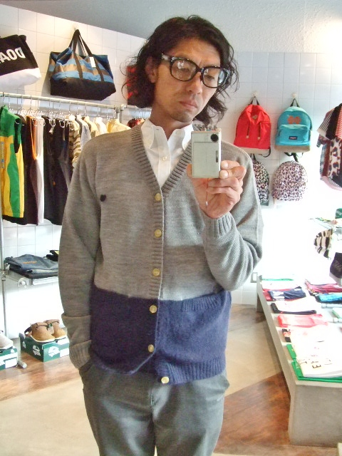 MDY MOHAIR KNIT CARDIGAN TG ST