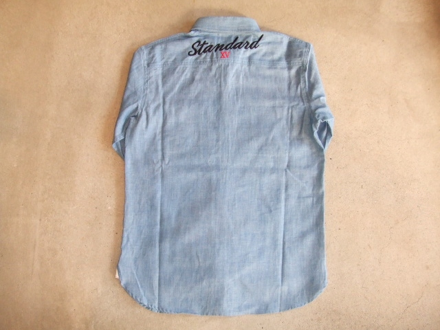 MDY DUNGAREE WORK SHIRTS BULE BK1