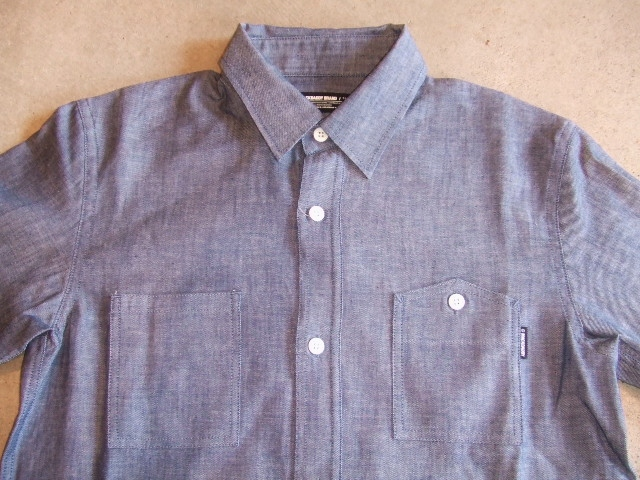 MDY DUNGAREE WORK SHIRTS INDIGO FT1