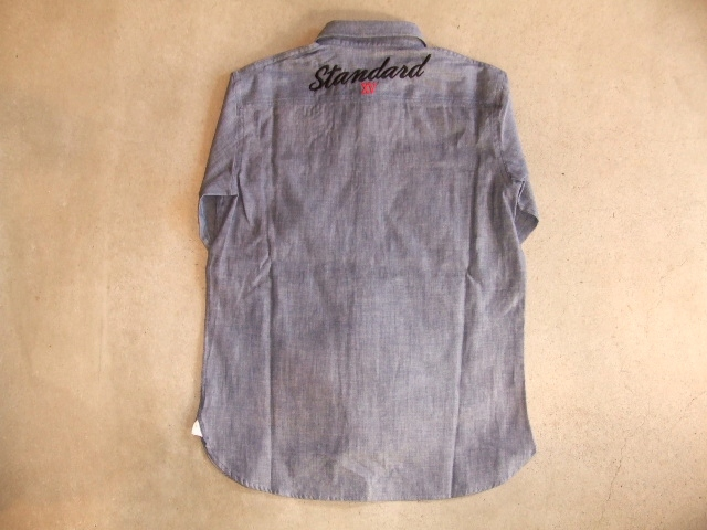 MDY DUNGAREE WORK SHIRTS INDIGO BK1