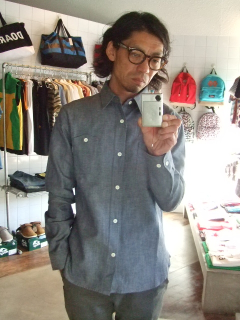 MDY DUNGAREE WORK SHIRTS INDIGO ST