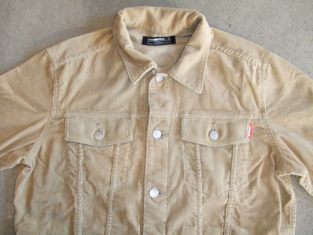 MDY CORDUROY JACKET BEIGE FT1