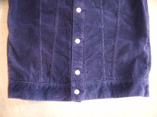 MDY CORDUROY JACKET NAVY FT2