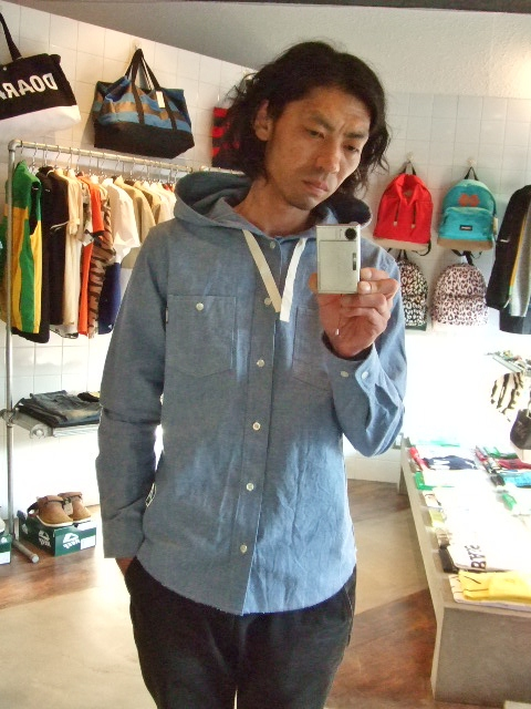 MDY HOODIE DUNGAREE SHIRTS ST