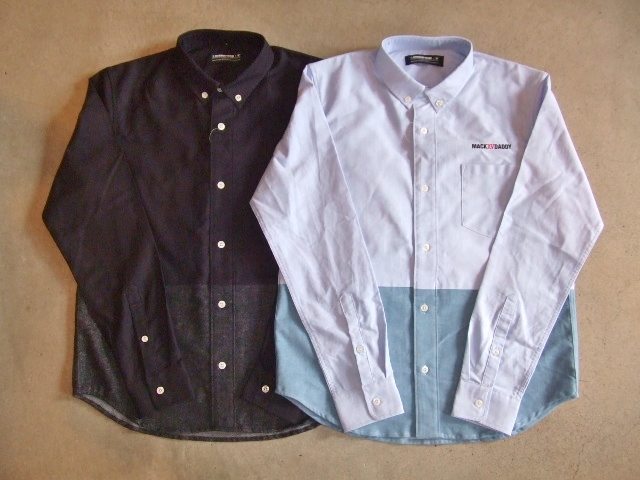 MDY OXFORD B.D. COMBI SHIRTS