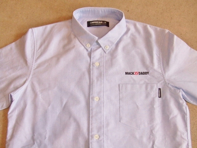 MDY OXFORD B.D. COMBI SHIRTS BLUE FT1