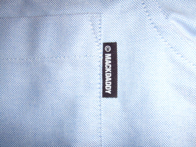 MDY OXFORD B.D. COMBI SHIRTS BLUE PN