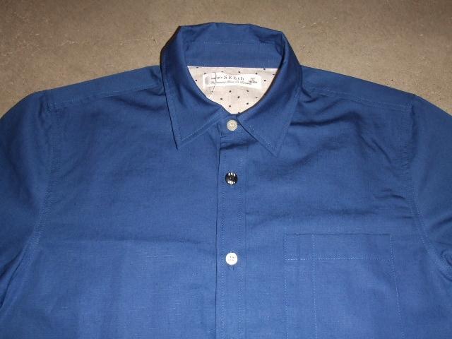 SEEth LUMINOUS SHIRT BLUE FT1