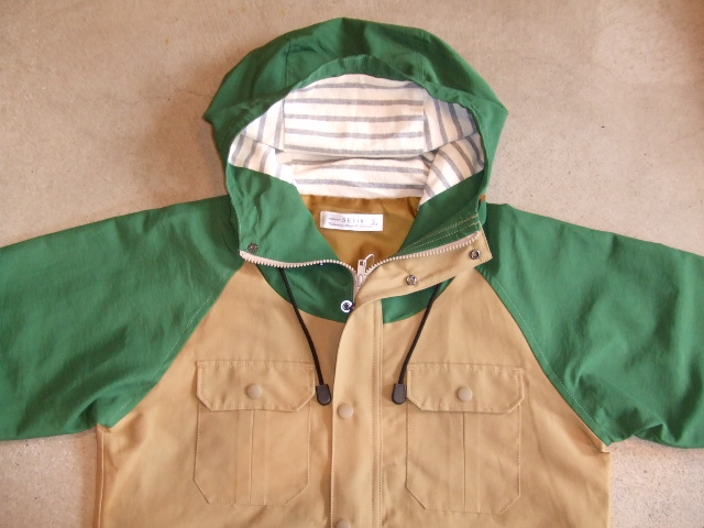 SEEth HERRY MOUNTAIN PARKA GREEN FT1
