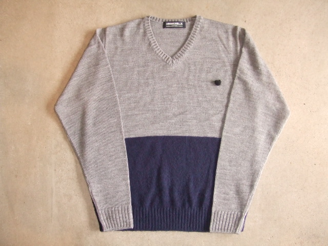 MDY MOHAIR KNIT SWEATER GRAY FT1